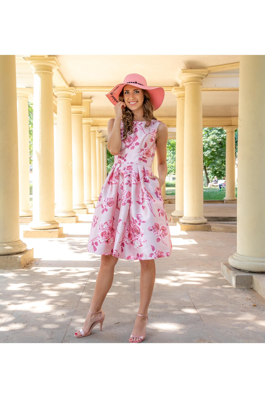 ... růžové Chi Chi London společenské šaty Enika 218856bc06
