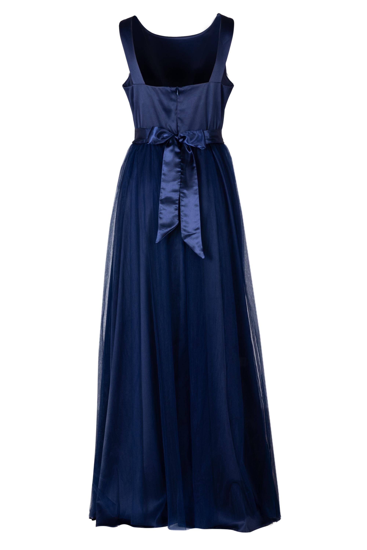 ... modré Společenské šaty Elizabeth 92e936f958