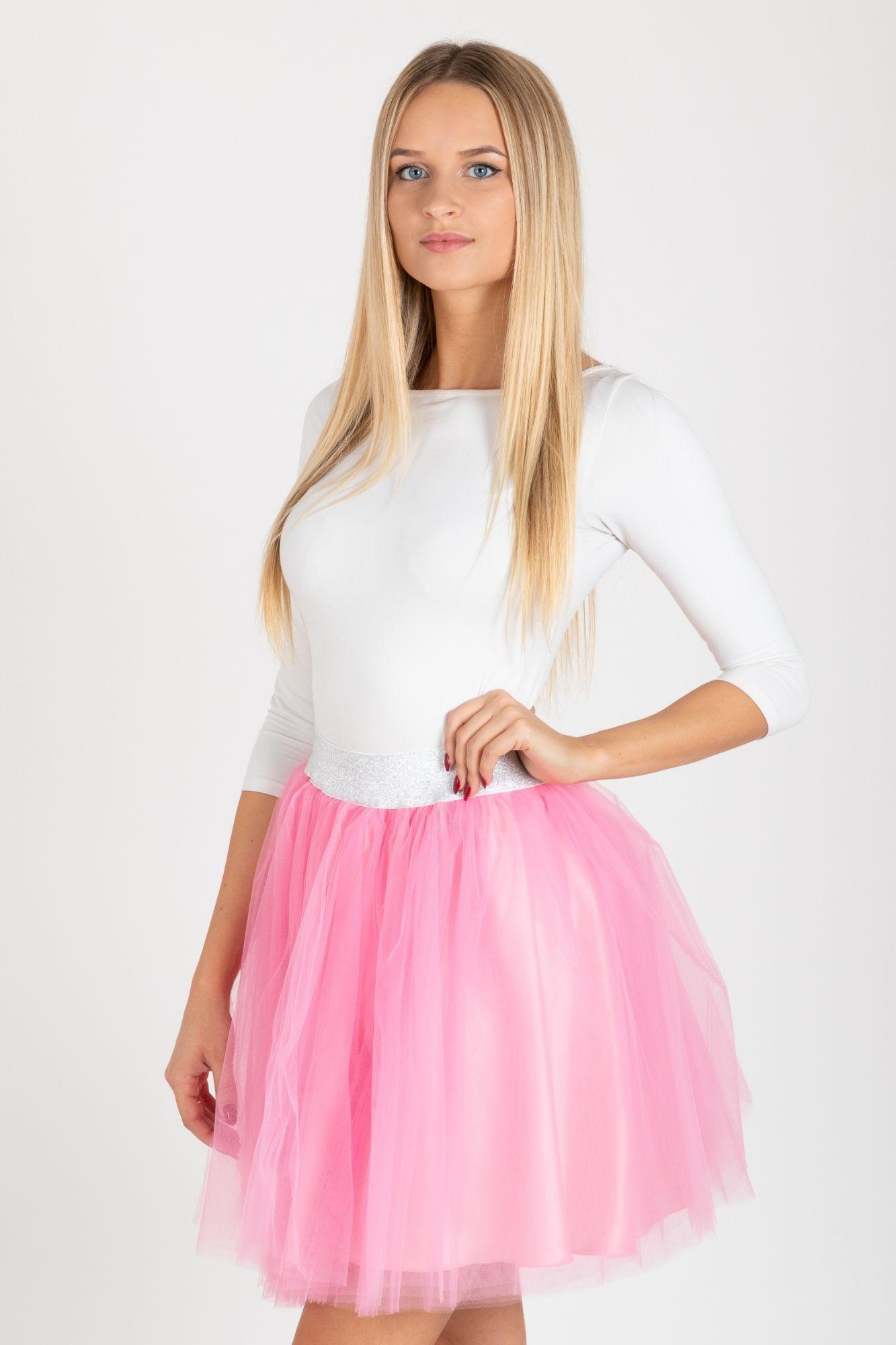 ... růžová TUTU sukně Princezna 06421f66eb