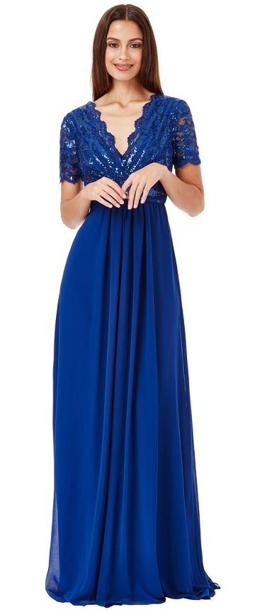 Dlouhé společenské šaty Kouzlo 2eefa8392e