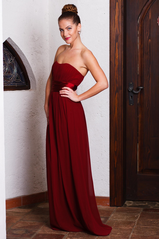 ... vínové Ever-Pretty plesové šaty Madonna fdd3809b8d