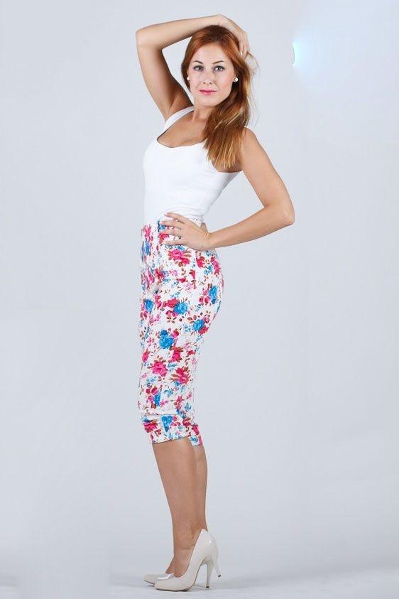 LindyBop tříčtvrteční kalhoty Kendra 1b08da97db