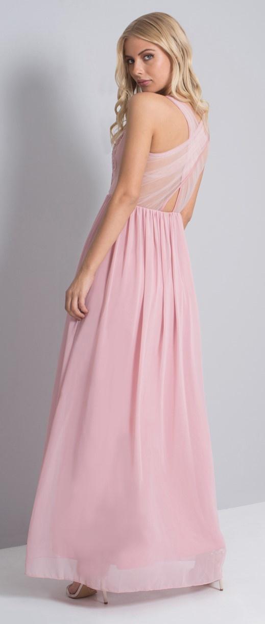 ... růžové Chi Chi London plesové šaty Alissa 1d14342d89