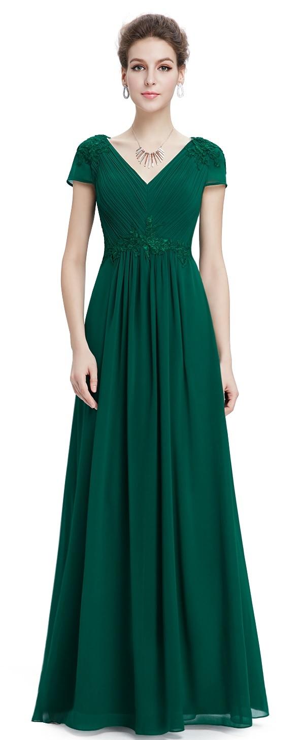 622f860de337 Ever-Pretty plesové šaty Smaragdové Snění