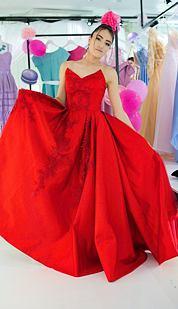 Exkluzivní V.I.P. model Karmína, červený