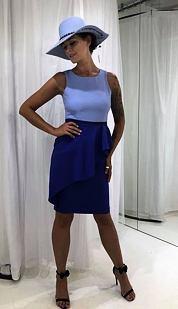 Pouzdrové šaty Klasa, fialové