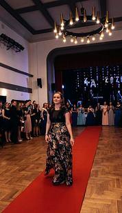 Maxi sukně Noc v Orientu, černá