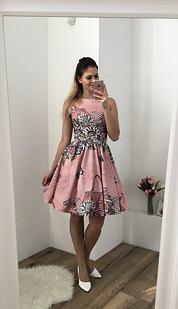 Šaty Návrhářka, růžové