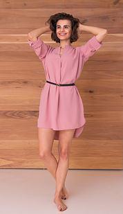 Šaty Jana, růžové