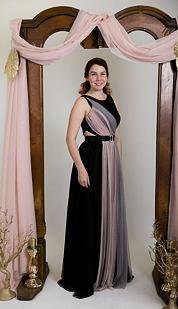 Plesové šaty Pokladnice, černé