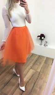 TUTU sukně Pavlova, oranžová
