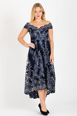Plesové šaty Hvězdná záře b01e5ae443b