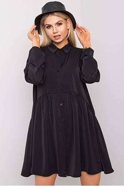 Tunikové šaty Leonie, černé