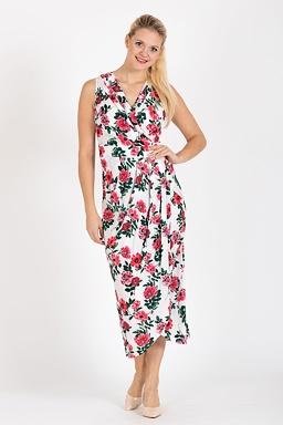 Maxi šaty Jiřina, bílé