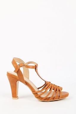 Sandály Ria, hnědé