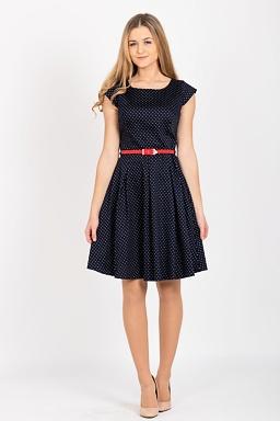 Retro šaty Vyrovnanost 2892bf67db