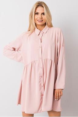Tunikové šaty Leonie, růžové