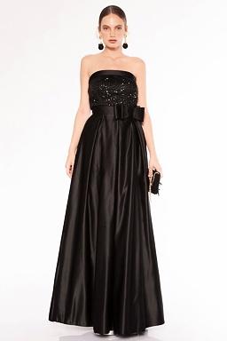 Plesové šaty Sonáta, černé