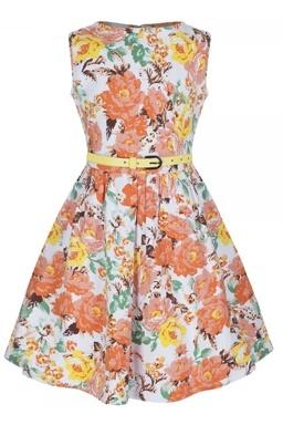 LindyBop dětské šaty Mini Audrey c2d24cd85e