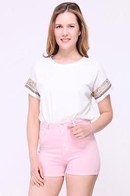 Tričko Indiana, bílé