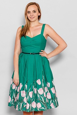 LindyBop šaty Bernice d93fc9e5ba