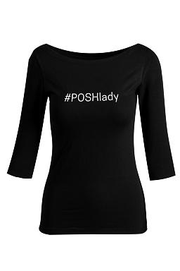 Merch tričko #POSHlady