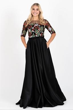 Exkluzivní V.I.P. plesové šaty Intuice 85091c4281c