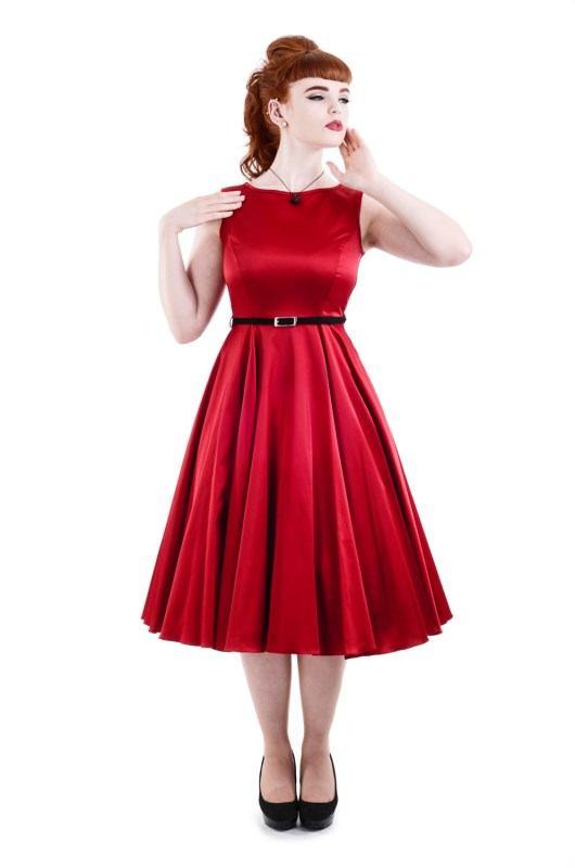 Rudé šaty Diva - POSHme.cz 6370502215
