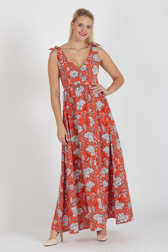 Maxi šaty Pomeranč, oranžové