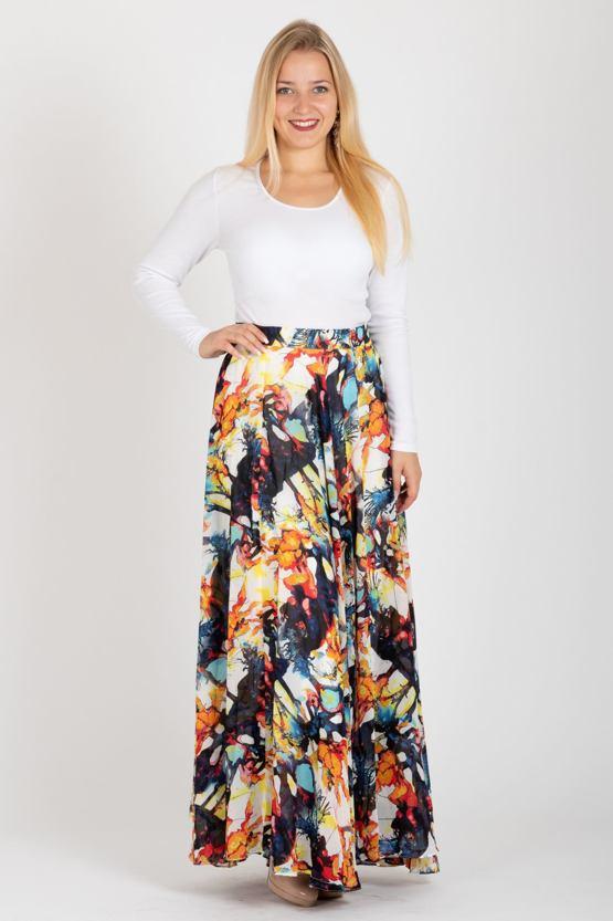 Maxi sukně Batika - POSHme.cz 6c4261ad59