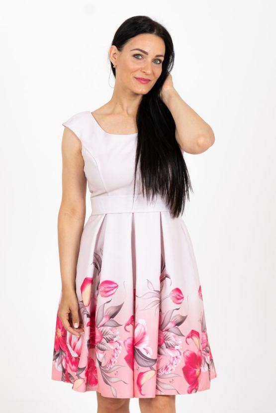 Šaty Kouzelné Ibišky, béžové