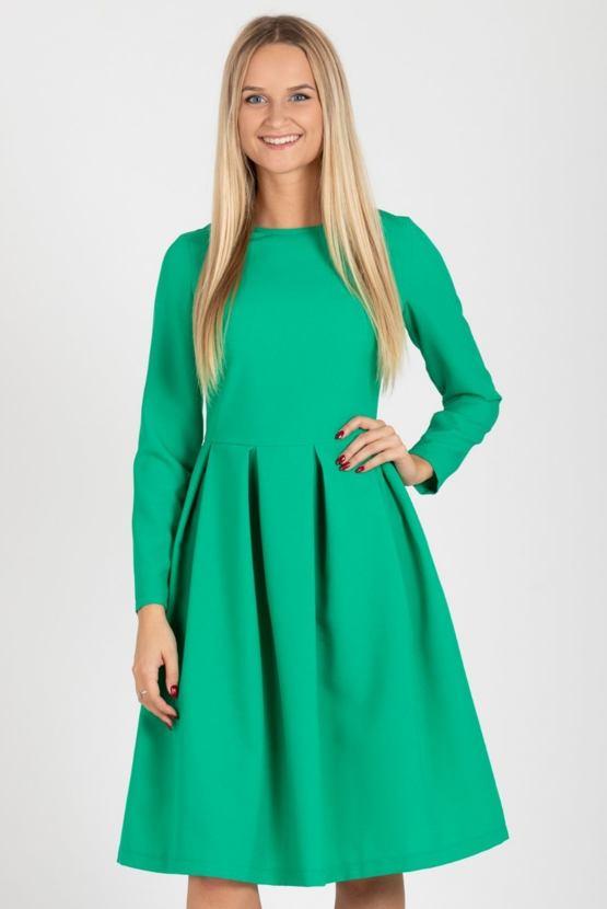 Šaty Borovice, zelené
