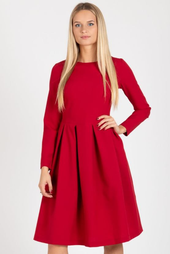 Šaty Jetel, červené