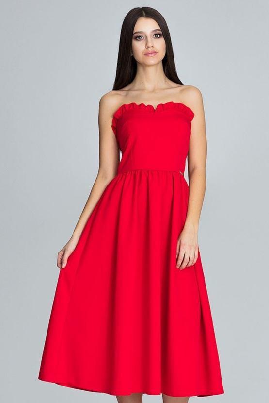 Šaty Operetta, červené