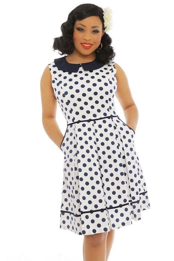 84f326e0048b Retro šaty Molly Sue