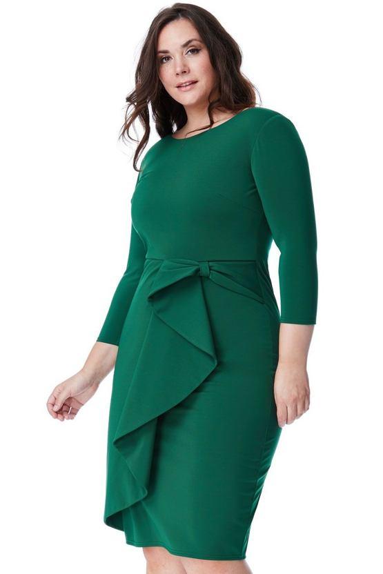 Plus size šaty Grass, zelené