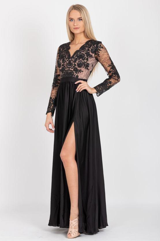 Plesové šaty Anat, černé