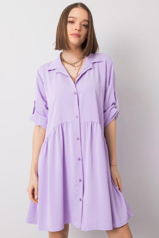 Tunikové šaty Leonie, fialové