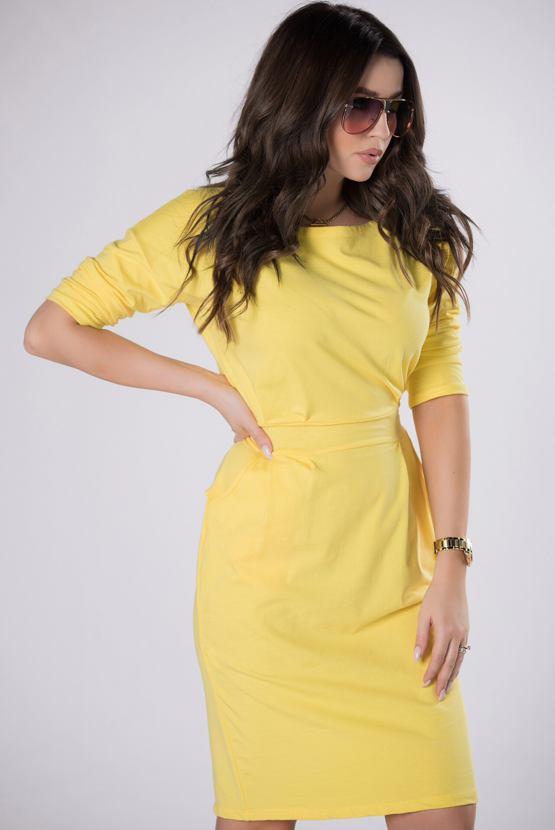 Šaty Limonáda, žluté