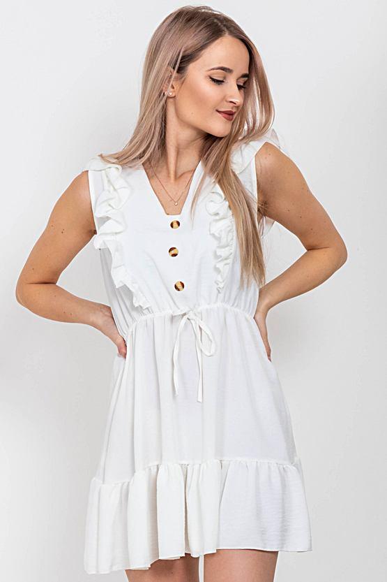 Šaty Ukolébavka, bílé