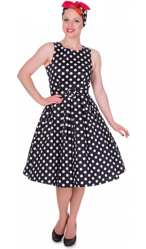 2fcc06fa5fc1 Dolly and Dotty retro šaty Annie s puntíky