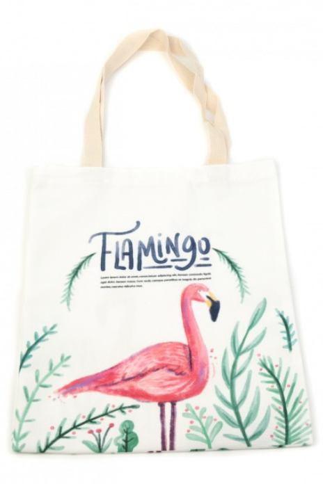 Plážová taška Flamingo summer
