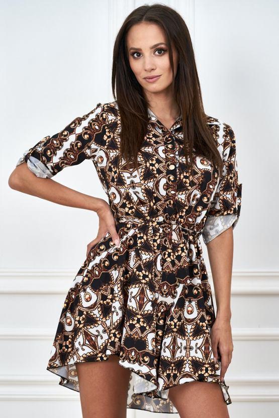 Košilové šaty Kaleidoskop, barevné