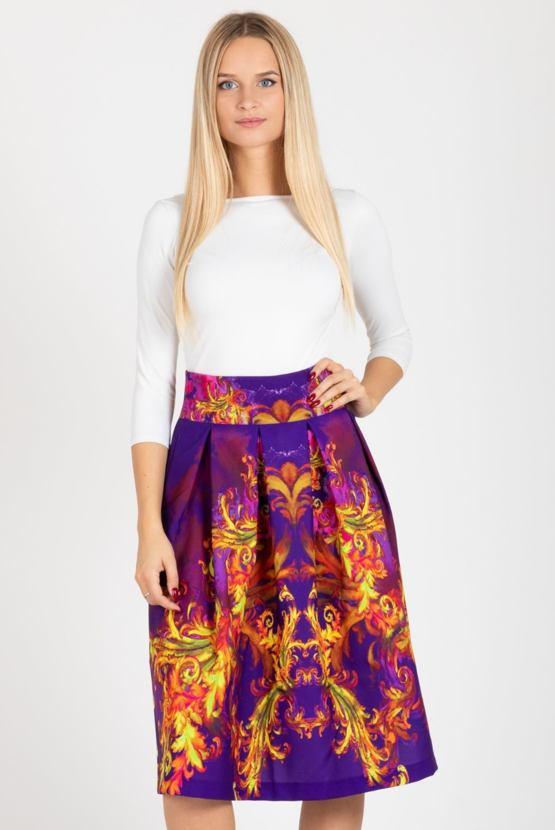 Sukně Orient, fialová