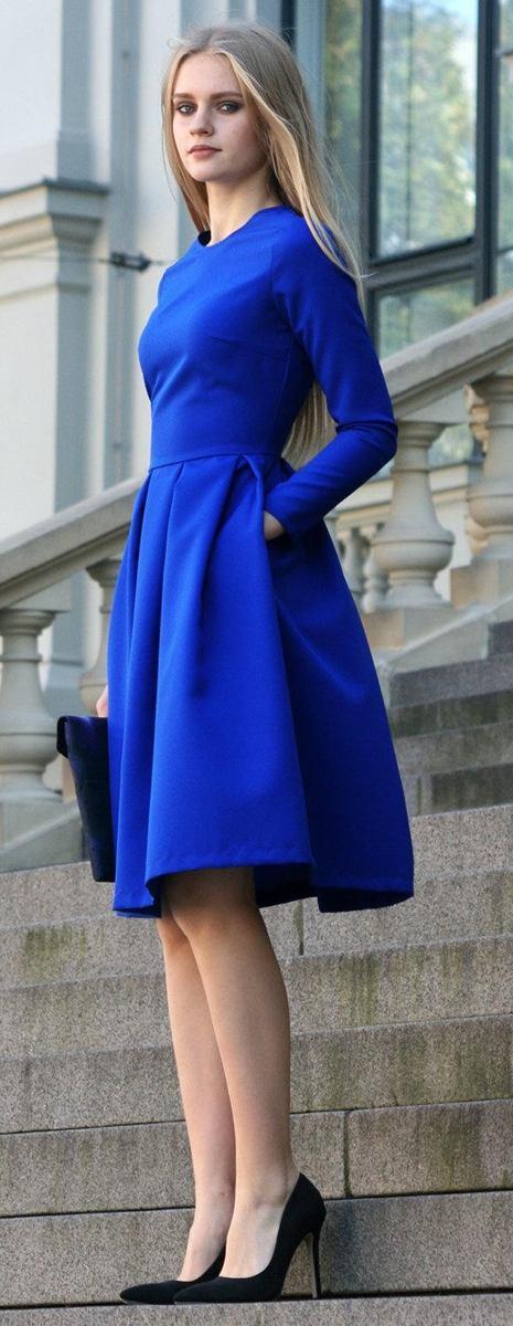 Šaty Vrba, modré