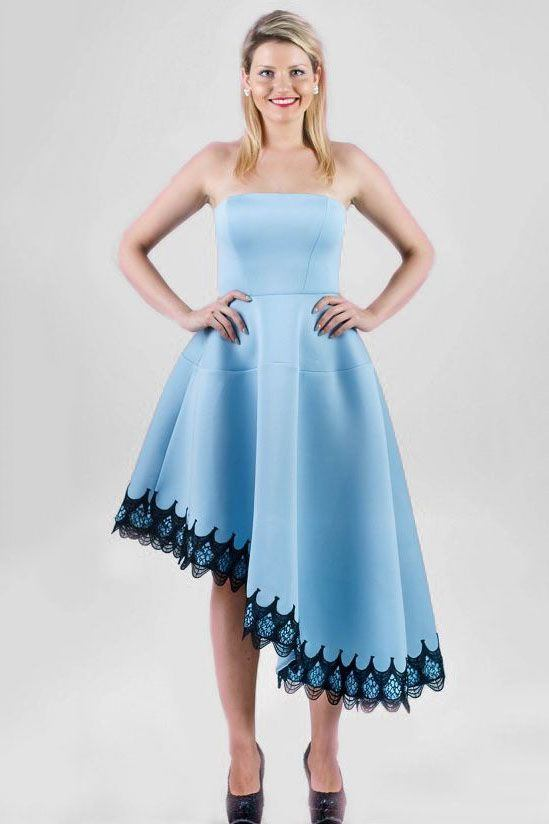 City Goddess šaty Asymetrie c323c08bb6
