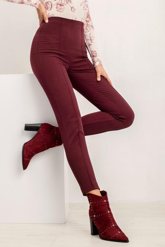 Kalhoty Bonny, vínové