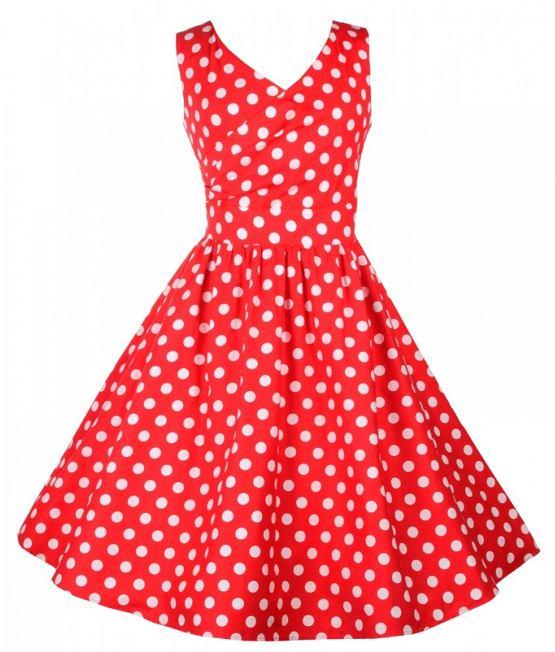 Dolly and Dotty retro šaty s puntíky May 4022bdfe58e