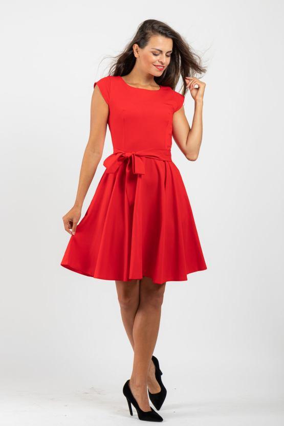 Šaty Poštolka, červené