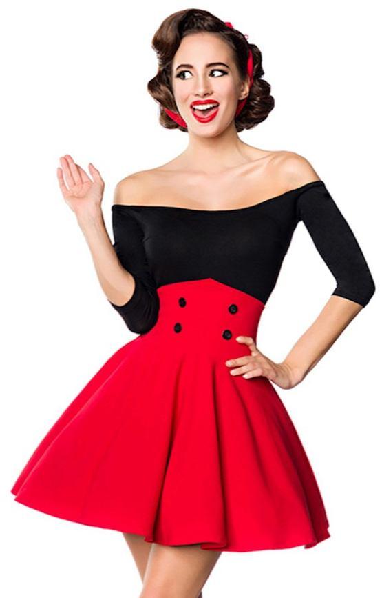 2987ece67e1 Krátká pasová retro sukně Andrea